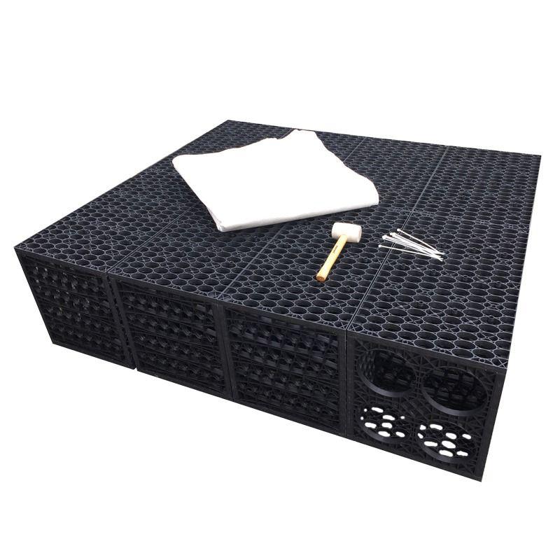 Rainsmart Soakaway Set Shallow Flat-Packed 1 Cubic Metre - Option 2