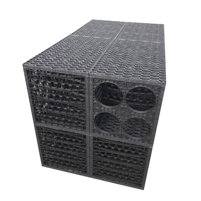 Rainsmart Ellipse Soakaway Crate Assembled