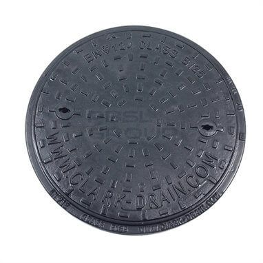 Ductile Iron Manhole Cover Round - 12.5 Tonne x 450mm Diameter - OUT OF STOCK