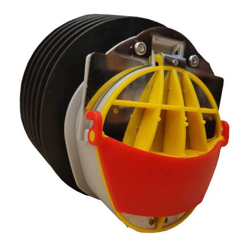 Buffalo 110mm Drainage Non Return Valve With Rodent Guard - OUT OF STOCK