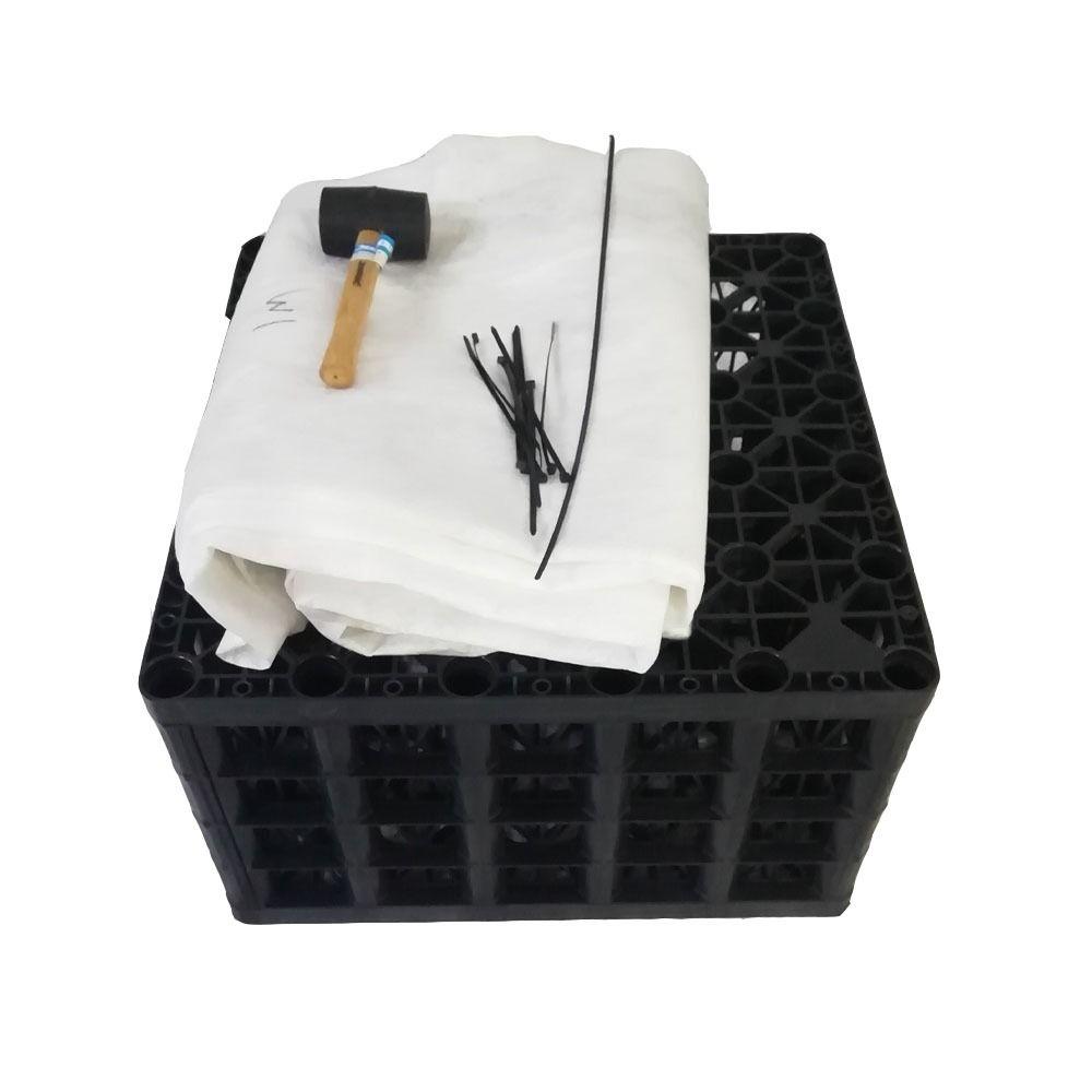 Rainsmart Shallow Soakaway Set Assembled - Heavy 1 Cubic Metre - OUT OF STOCK