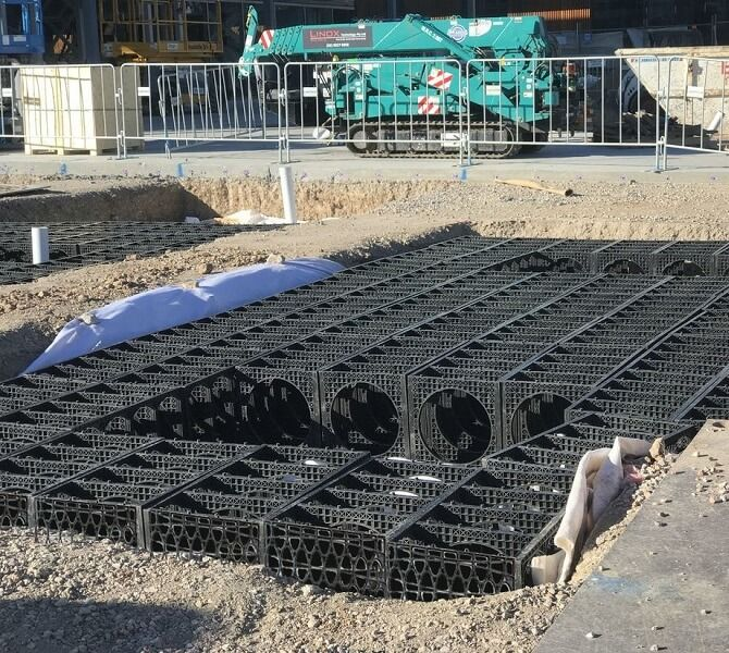 Terravault Root Protection System - 5 SQM Shallow Flat Packed