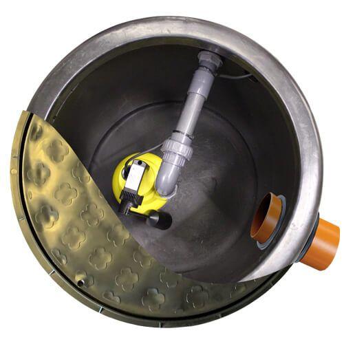 Fontus Single Pumping Station - 300 Litres