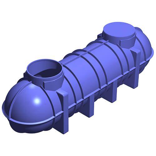 PuraTank Non-Potable Underground Water Tank 4400L