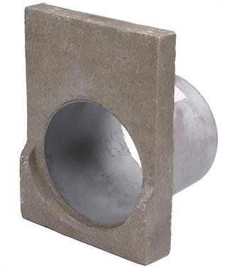 Channel Drainage Outlet End Cap - OUT OF STOCK