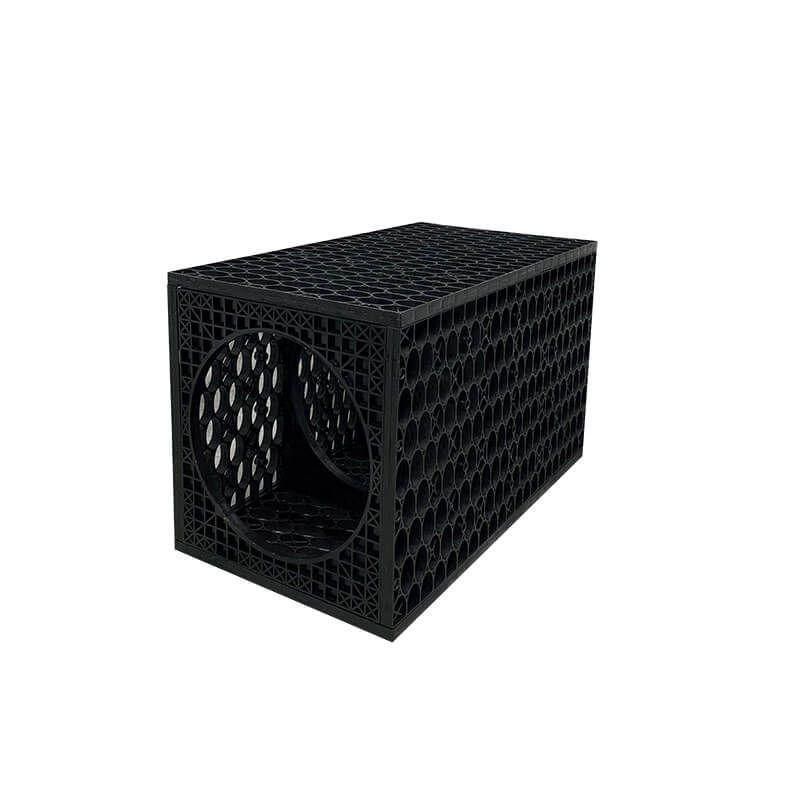 Rainsmart Ellipse Inspection Channel Crate Assembled - Shallow