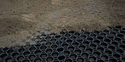 Permeable Grass Paving - Nero Pave Applications