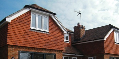 PVC Guttering and Roofline - Printstile House, Bidborough Ridge, Kent