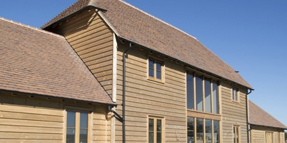 Cast Iron Effect Guttering - Summerhill Barn, Mayfield, East Sussex