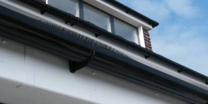 Deepflow Guttering and White Roofline - Vicarage Road, Southborough, Kent