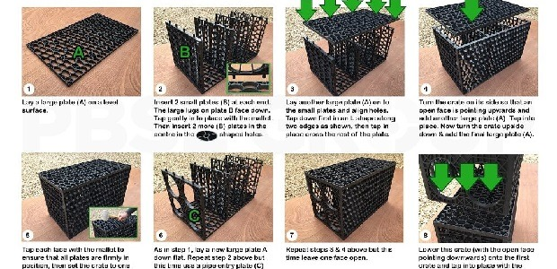 Ellipse Soakaway Crate Assembly Instructions