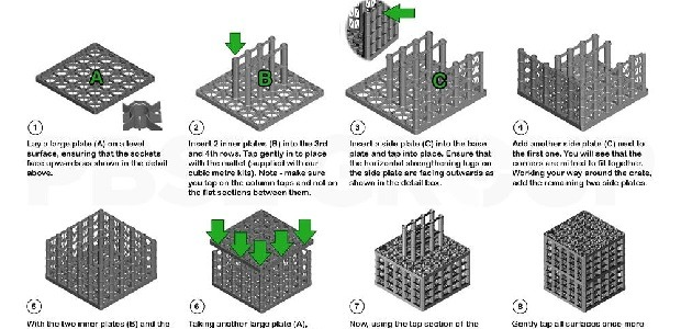 65 Tonne Heavy Soakaway Crate Assembly Instructions