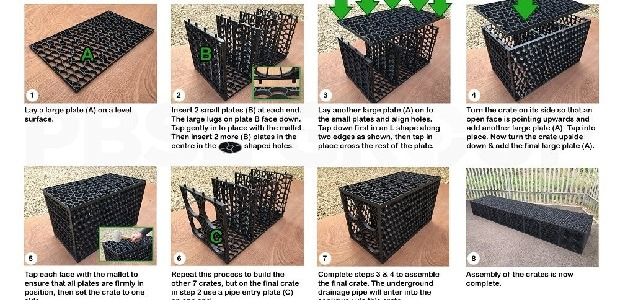Shallow Soakaway Crate Assembly Instructions
