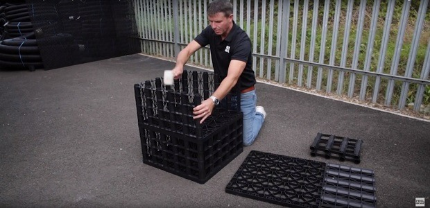 Building Your 65 Tonne Heavy Soakaway Crate (Video)