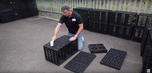 Building Your Ellipse Soakaway Crate (Video)