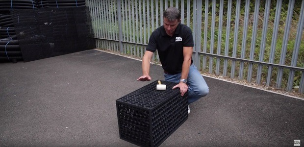 Building Your Shallow Soakaway Crate (Video)