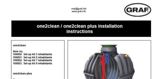 Sewage Treatment Plant Installation Instructions