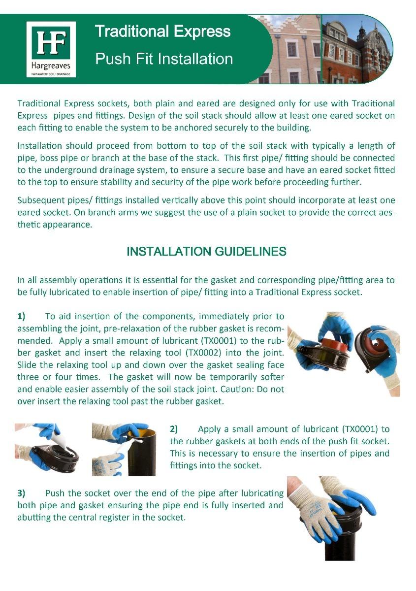 Cast Iron Soil Pipe Installation - Part 1