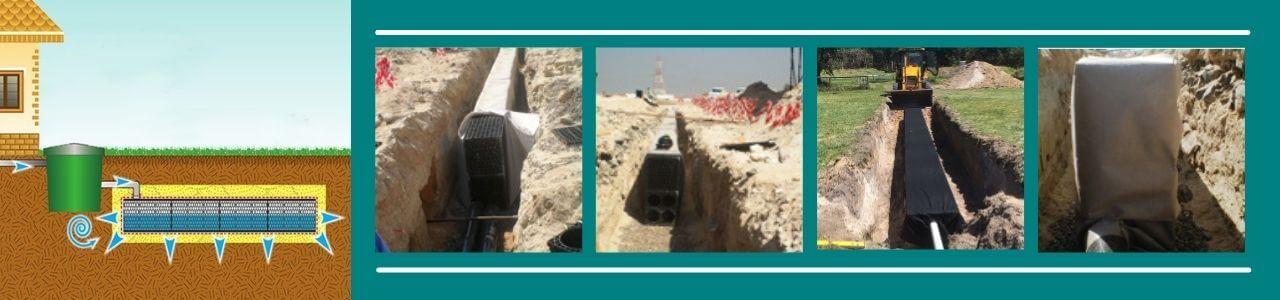 Leach Drainage Application